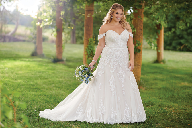 Designer Spotlight: Plus-Size Bridal