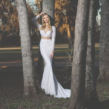 Ashley & Justin, a new collection of bridal designs for fashion savvy brides looking for sensibly priced alternatives.