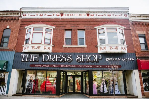 Brides N' Belles original location has now become a home for all prom wear and discount bridal.