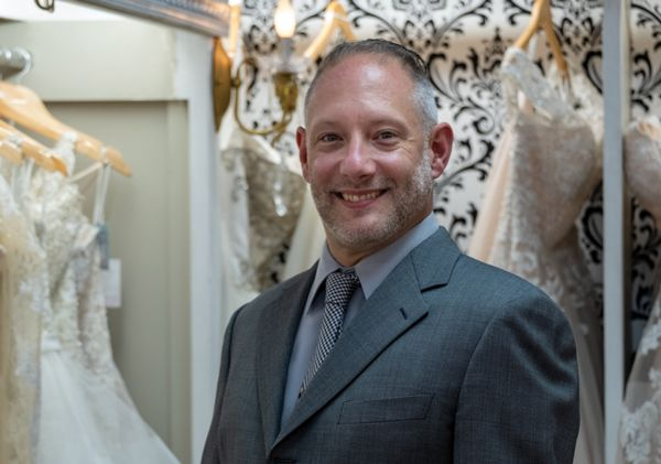 Remy's grandson Charles M. Prokop, Jr., who began working at the store right out of high school, is now vice president of merchandising/marketing/bridal designer.