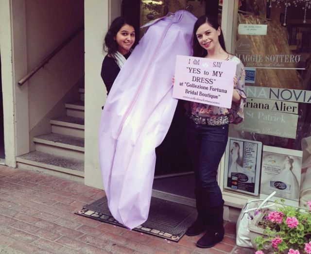 Customers at Collezione Fortuna Fashion Boutique and Bridals in Carmel by the Sea, Calif., pay for appointments, which has helped eliminate rude no-shows.