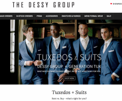 The Dessy Group s After Six website.