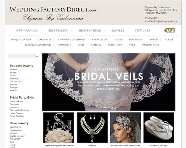 WeddingFactoryDirect.com