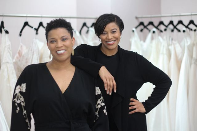 Sisters and co-owners of Curvaceous Couture.