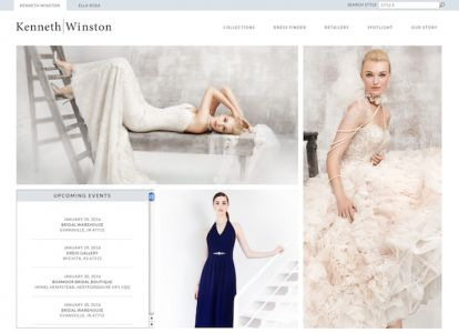 Bridal industry directory of resources and designers