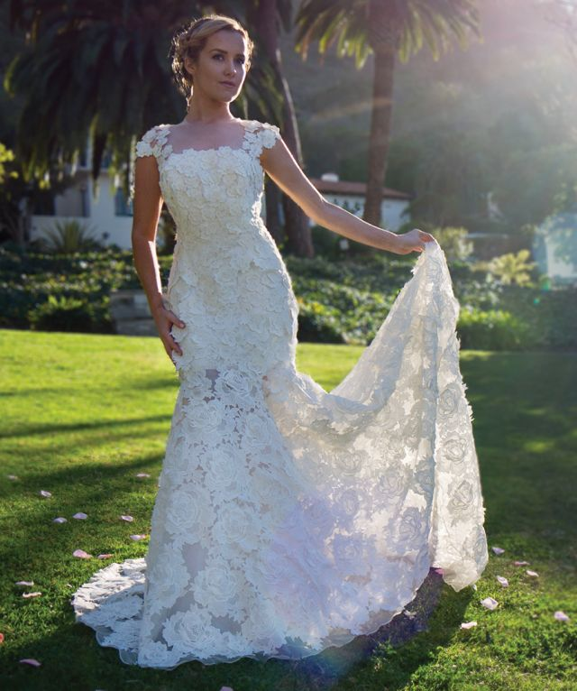 LauMarie launches natural fabrics wedding gown line