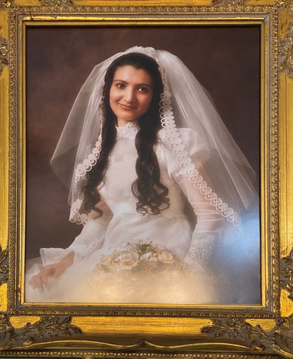 A 1974 wedding photo of Remy's late daughter, Lorraine (who is also Prokop Jr.'s mother), is displayed in her memory.