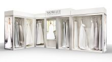 Morilee s Bridal Boutique merchandising display
