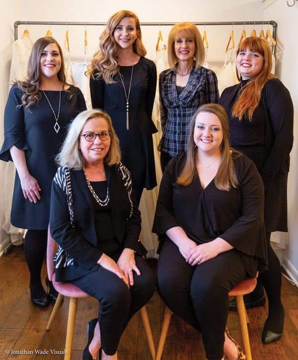 The Madison Town & Country Bridal staff.