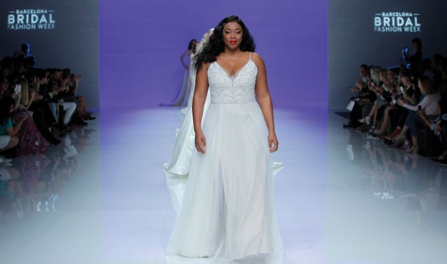 40064d15b4d Maggie Sottero Designs showcased on the catwalk at Barcelona Bridal Fashion  Week for the first time