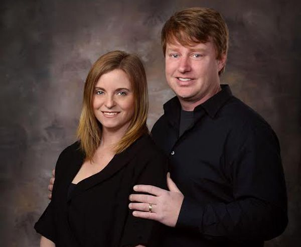 Owners of Frew's Bridal, John and Erin Frew.