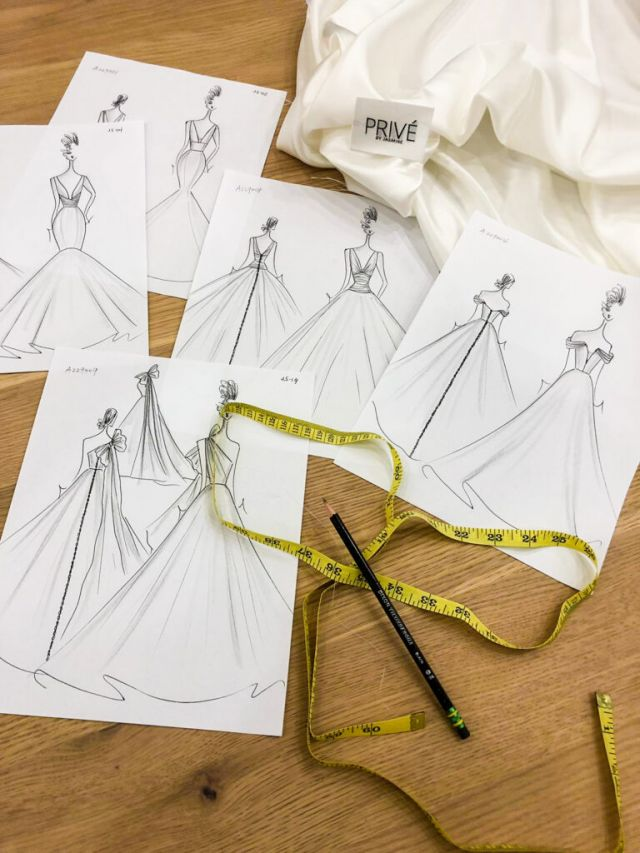 Privé, Jasmine Bridals' soon to be released exclusive silk collection.