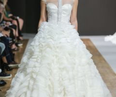 Style Z6120 from renowned designer Mark Zunino's debut bridal collection.