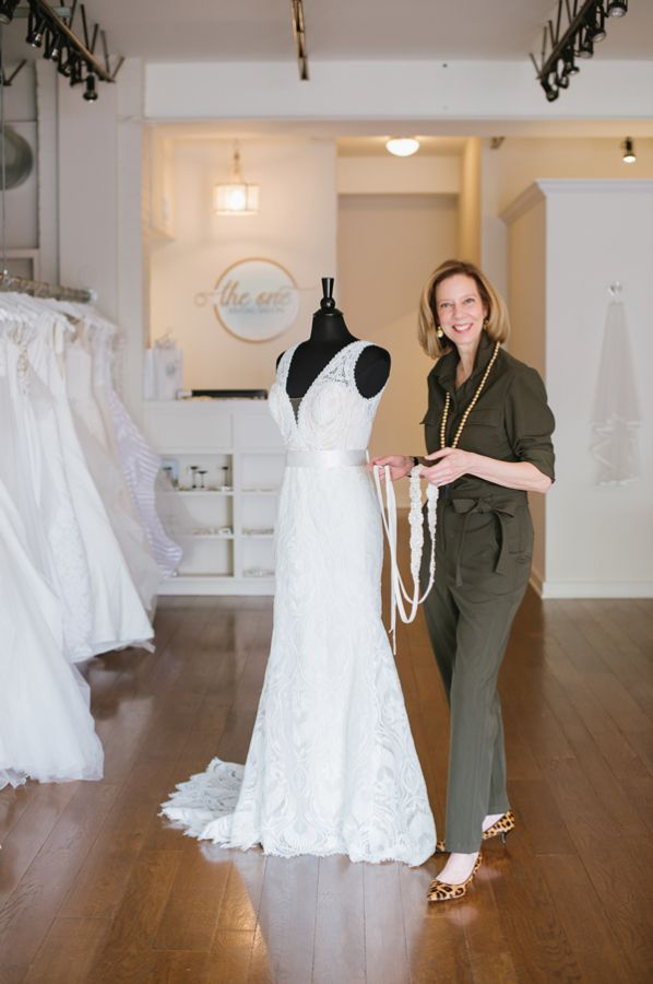 Peggie Donowitz opened The One Bridal Salon in Charlottesville, Va., in January 2018. A former nurse, Donowitz voluntarily closed her store on March 10 to protect her health and the health of her guests. (Credit @JenFariello)