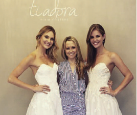 Allison Webb (center), recently joined JLM Couture