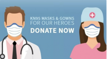 GoFundMe campaign to raise funds to acquire and donate needed Personal Protection Equipment for NYC hospitals.